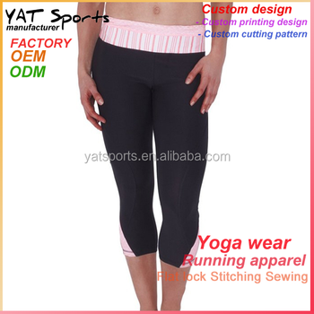 Chinese clothing manufacturers gym wear yoga fitness and sports pants bcfa356bb