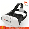 2016 new model portable plastic cardboard vr box 3d bluetooth headset models for 4-6 inch smart phone