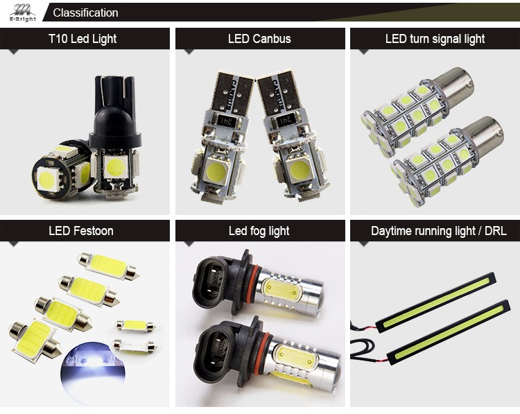 194 168 600 Lumens 5SMD T10 car led light