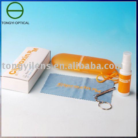 Lens cleaning kit(eyewear care kit)