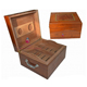 germany with handle empty humidor box wooden cigar case