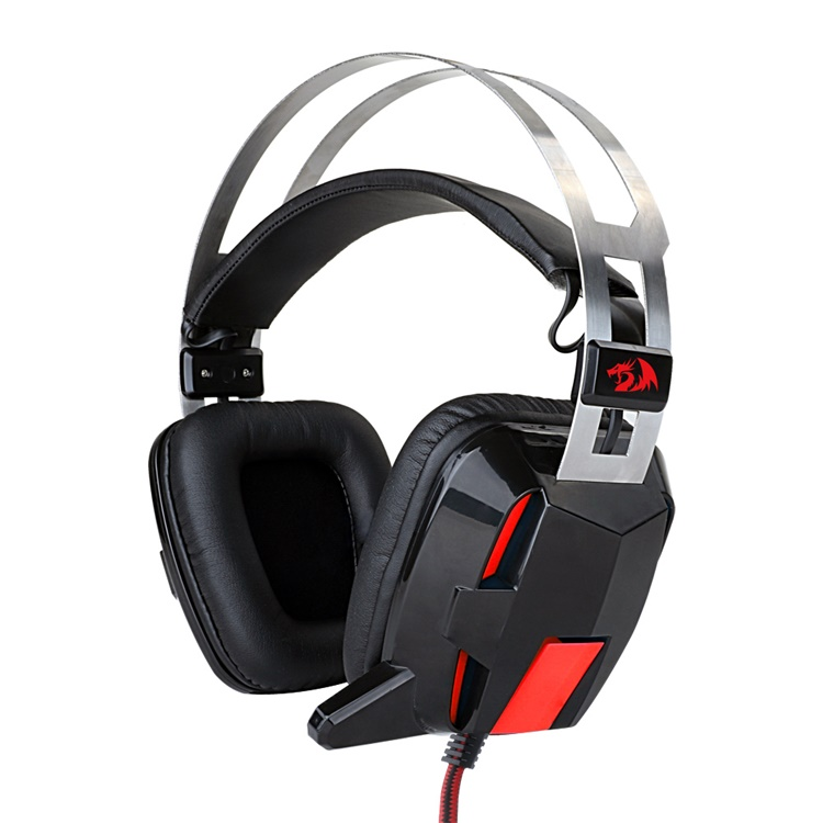Redragon H201 stereo bass surround universal 3.5mm plug gaming headset for PC laptops tablets