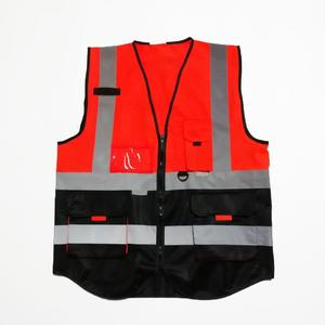 custom color multi pocket working products safety clothing with logo