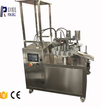 Adhesive glue bottle filling machine