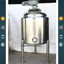 Rvs verf mengmachine/agitator tank
