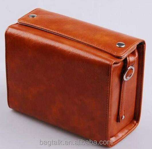 CM0378 Hot Sales Mini Digital Camera Bag Waterproof Leather Camera Case