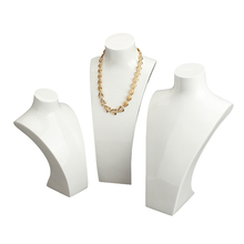 FSD Professionele fabriek <span class=keywords><strong>acryl</strong></span> handgemaakte mani sieraden displays bustes <span class=keywords><strong>ketting</strong></span> stand