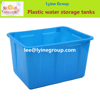 Hot sale plastic water storage tank by rotomolding buy for Plastic hot water tank