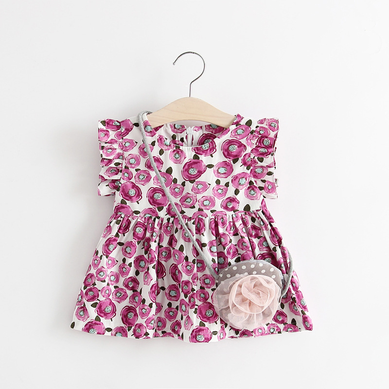 BSD1591 wholesale factory supplier baby girl daily wear dress