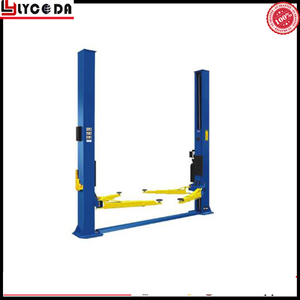 2017 latest prices car lifter two post parking 2 post car lift hydraulic for home used