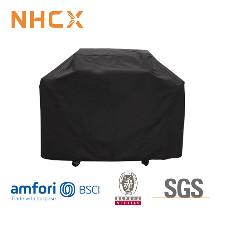 58 inch 600D waterdichte heavy duty anti-uv waterdichte bbq cover outdoor bbq grill cover