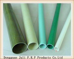 Epoxy Resin Reinforced Fiber Glass frp pultrusion tube/pipe with high quality