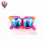 new foil balloons with sunglasses shape stand for party decoration