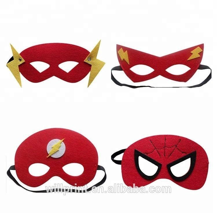 Catálogo de fabricantes de Niños Fieltro Super Hero Máscara de alta ...