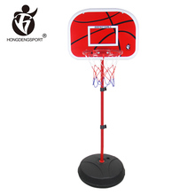 sport equipment plastic portable basketball hoop outdoor with inflatable ball