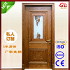 Interior Mahogany Solid Wood Door Weight Carving