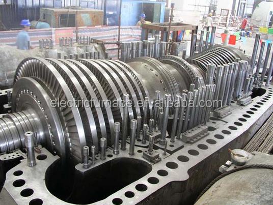 turbina de vapor and turbine 660mw thermal power turbine from Shanghai electric power station equipment steam turbine factory