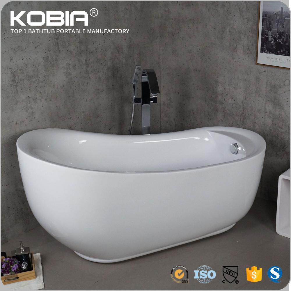 Seamless Clear Acrylic Roll Top Bath Tubs Freestanding Normal Rustic Bathtub Bathtubs