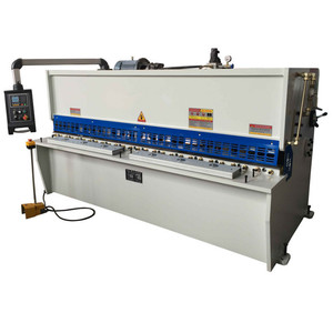 4mm 6mm 8mm 12mmIron Stainless Steel Plate Sheet Electric CNC Metal Hydraulic Shearing Machine Price Used Customs Data