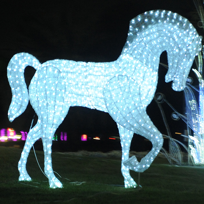 Christmas Horse Pictures.Outdoor 3d Life Size Commercial Led Animals Sculptures Horse Lighted Acrylic Christmas Decorations Buy Horse Led Acrylic Outdoor Christmas