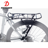 22-27'' Universal Bicycle Cargo Carrier Rack Rear Luggage Carriers Hitch Mount Rack