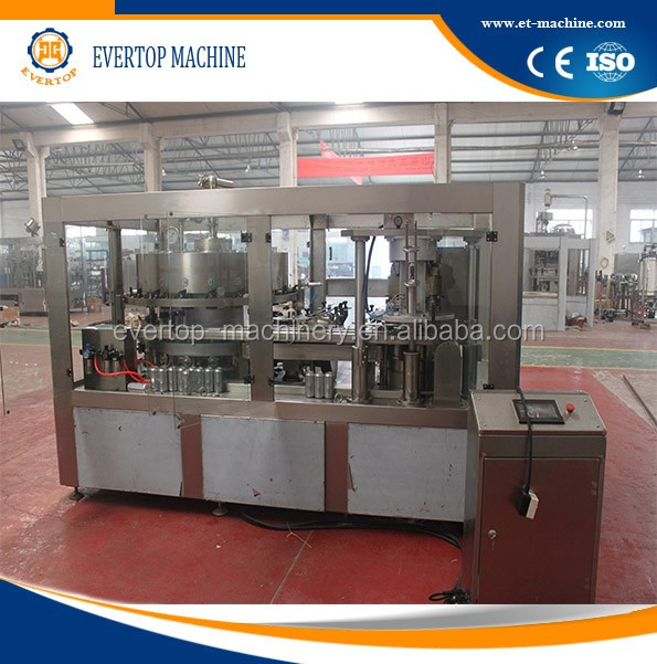 Metal Cans Juice Production Filling Line