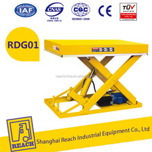 Quality primacy hot sell double scissor stationary lift table