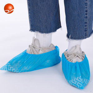 Wholesale Custom Shoe Covers Disposable Non woven Fabric Non Slip Boot Cover