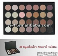 28C eyeshadow palette brown eye shadow