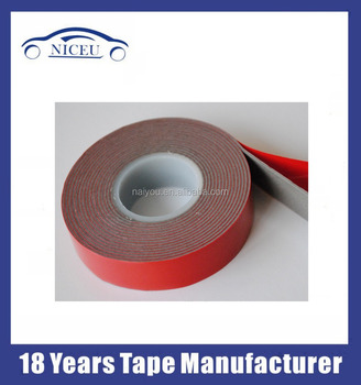 2mm Thickness Waterproof Material Double Sided Gum Sealing Tape