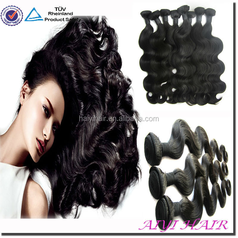 Factory Discount! Unprocessed Grade 5A 6A 7A Curly Hair Weave Ponytail