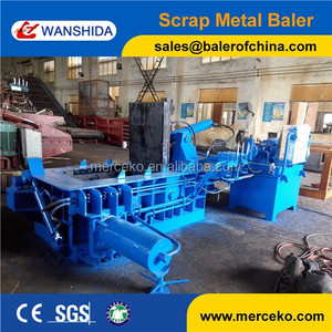 CE Certificated Three Ram Metal Bailer