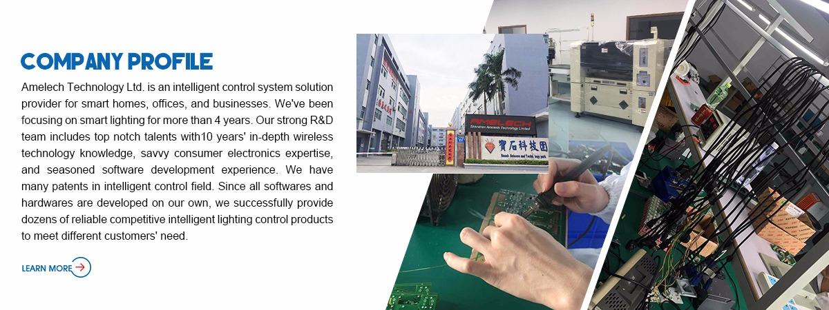 Shenzhen AMELECH Technology Limited - Zigbee Lighting Control, LED