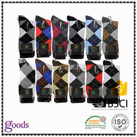 High Quality OEM Services Men Custom Colorful Combed Cotton Dress Socks