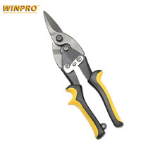 Cutting Scissors Rubber Handle Straight Metal Aviation Tin Snip Sheet Shear