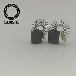 SENSHI MANUFACTURE HIGH QUALITY POWER TOOL SPARE PARTS CARBON BRUSH FOR BOSCH ELECTRICAL MARBLE MACHINE GDM13-34 6X12X15