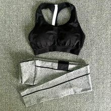 Sports Type Yoga Wear Sexy Seamless Bra And Panty Set