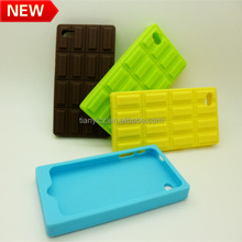 new promotion chocolate silicone mobile phone case new products