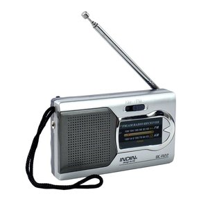 Micro radio receiver am fm 2 band with metal antenna old radios for sale