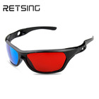 Plastic Red Cyan 3D Glasses For Normal PC, 3D Books And 3D Magazines, Promotion Use