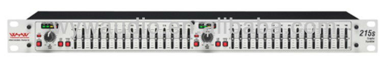 215S Stereo equalizer