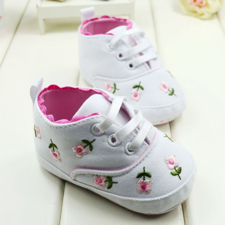 Baby Girl Soft Bottom Shoes