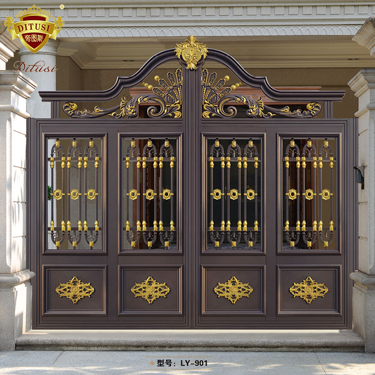 The Newest Metal Security Fence Door Indian House Main ...