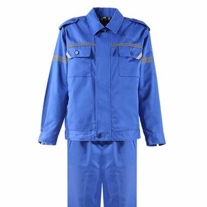 Custom Blue Workers Safety Coverall Work Wear Uniform