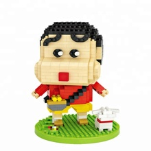 Crayon Shin-chan animation bausteine 3D puzzle diamant block lustige ziegel <span class=keywords><strong>blöcke</strong></span> spielzeug assemblys kinder spielzeug