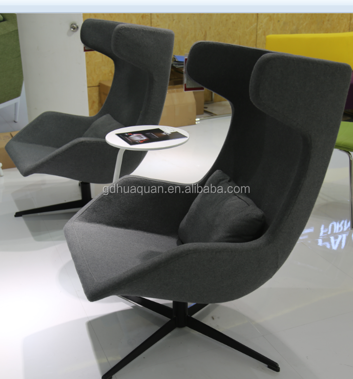 2015 lobby reception arm chair swivel chair for office