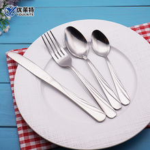 Utensils Matte Beaf Knife And Fork Cutlery Set Stainless Steel 72Pcs