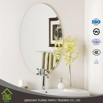 3mm Prix Usine Pas Cher Miroir De Salle De Bain Sans Cadre Miroir Mural  Décoratif - Buy Miroir Mural Décoratif,Miroir De Salle De Bain Pas  Cher,Miroir ...