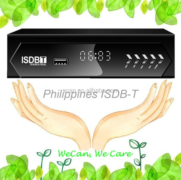 VCAN1047 Philippines Home ISDB-T Digital <strong>TV</strong> Receiver <strong>TV</strong> Plus black box MPEG4 USB PVR Remote