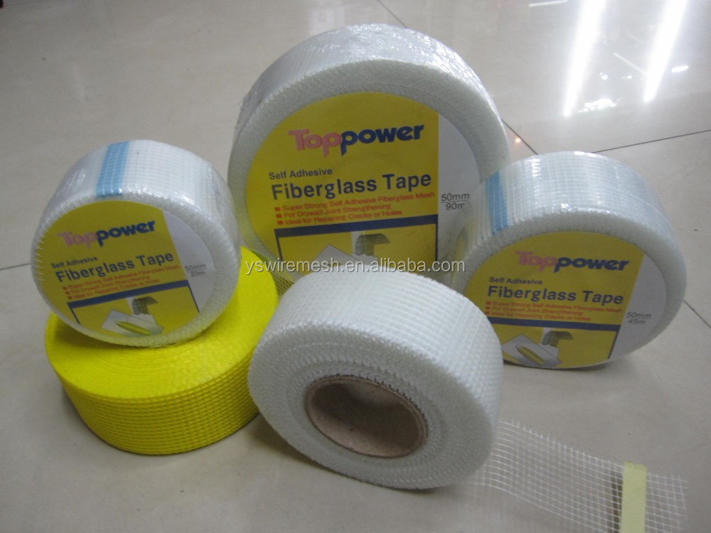 Fiberglass self adhesive tape sticky tape for wall and ceiling